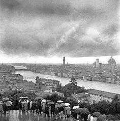 alluvione dell'Arno  Firenze 1966