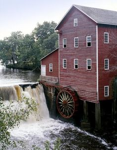 water wheel mills in wisconsin - Google Search