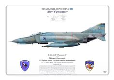 HELLENIC AIR FORCE . ΠΟΛΕΜΙΚΉ ΑΕΡΟΠΟΡΊΑ 117th Combat Wing, 338th Fighter Bomber Squadron Andravida AB, Greece