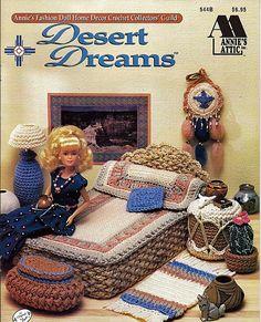 Barbie Furniture rêves de désert Annies Attic par grammysyarngarden