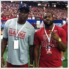 Mark Ingram and Julio Jones