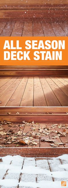 Renew your deck with a stain that will protect against any weather, season after season. Timeless Deck Stain uses advanced technology to deliver rich color that lasts for years. It's new from PPG, a brand trusted by pros for over 100 years. Only at The Home Depot.