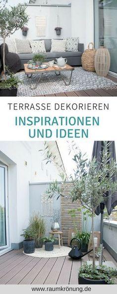 Terrace design, wooden deck design, Teras - Decor is life Design Wood, Patio Design, Design Design, Scandinavian Living, Scandinavian Interior, Scandinavian Garden, Back Gardens, Outdoor Gardens, Interior Simple
