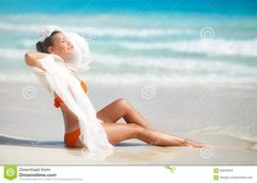 woman transparent beach - Szukaj w Google