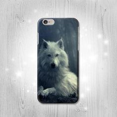 White Wolf iPhone 6S 6 Plus 6 5 5S 5C 4 4S Htc One by Lantadesign