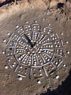 Land Art à la plage