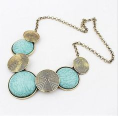 Star Jewelry Wholesale Maxi Necklace For Women 2016 Collier Femme Collares Mujer Geometric Thread Statement Necklaces & Pendants Penny Jewelry, Star Jewelry, Boho Jewelry, Women Jewelry, Silver Jewelry, Jewelry 2014, Prom Jewelry, Stylish Jewelry, Handmade Jewellery