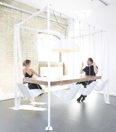 """Swing Table by Duffy London 