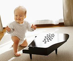 The Benefits of Introducing Baby to Music (via Parents.com) Music Activities For Kids, Preschool Music, Physical Development, Music And Movement, Before Baby, Piano Teaching, Baby Music, Early Literacy, Continuing Education