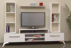 Ideas for living- Idei pentru living Ideas for living - Tv Cabinet Design, Tv Wall Design, Wall Shelves Design, Tv Unit Furniture, Wood Furniture Living Room, Tv Unit Decor, Tv Wall Decor, Tv Unit Interior Design, Tv Wall Cabinets