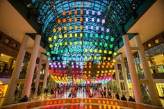 'Luminaires' at Brookfield Place NYC by Arts Brookfield and designer David Rockwell