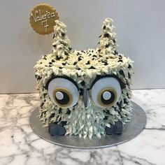 Tarta buttercream búho. Cupcakes, Fondant Cakes, Lolly Cake, Candy Stations, One Year Birthday, Cupcake Cakes, Cup Cakes, Muffin, Cupcake