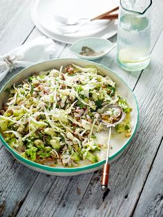From the fabulous Pete Evans :   Helen's Creamy Chicken Avocado Salad