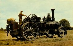 Fowler steam tractor
