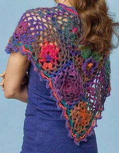 Crochet Shawls: Crochet Capelet Pattern - Beautiful and Innovative