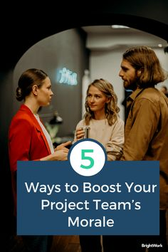 5 Ways to Boost Your Project Team's Morale When Things Get Tough #SharePoint2019 #SharePoint2016 #SharePoint2013 #SharePoint #projectmanagement #projects #PPM #PMO #BrightWork #PPMsoftware #collaboration #teamwork #remoteteams #distributedteams #remoteworking #workfromhome #remoteprojects