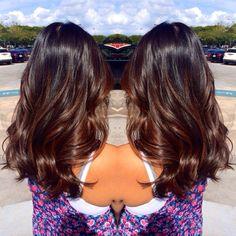 balayage dark brown hair subtle - Google Search