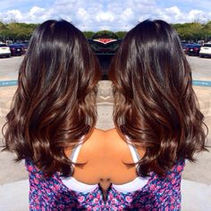 balayage dark brown hair subtle - Google Search