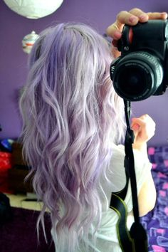 Ash, pastal purple &