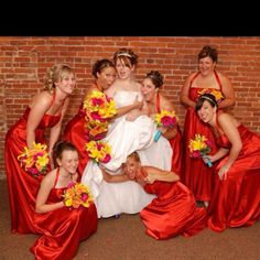 This is one of my favorite wedding pictures.  My face and poses are priceless!