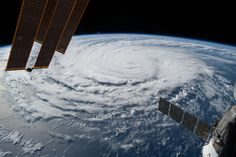 https://flic.kr/p/xRBppm | iss044e078230 | ISS044E078230 (08/30/2015) --- Hurricane Jimena is a category 3 storm and is about 1,000 miles east of Hawaii, traveling at a rate of 10 mph in a west-northwest direction. This image was captured by the International Space Station on August 30, 2015.