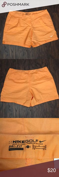 Nike Linen Golf Shorts Nike Women's golf shorts (ONLY WORN ONCE)! Nike Shorts