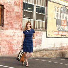 Sharing one dress, three easy ways on the blog today. Link in profile,... #liketkit http://liketk.it/7ga @LIKEtkit