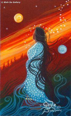 Éphémères Vintage, Native American Paintings, Indian Paintings, Art Paintings, Abstract Paintings, Native American Artists, American Indian Art, American Women, American Indians