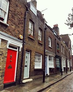 This little street in London's Kentish Town is one of the loveliest in the neighborhood.