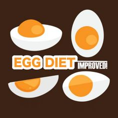 Saw the boiled egg diet and had to improve it. Here is the better, faster, safer version (over 800 calories per day) of this popular diet.