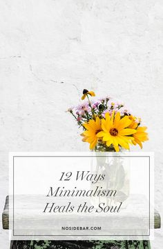 Minimalism is never just about less stuff. Once the things are gone we receive a freedom with which we can't help but explore—and that happens in the soul.
