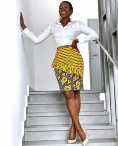 These Trendsetting Ankara Styles Are All You Need For Your Next Outing African Inspired Fashion, Latest African Fashion Dresses, African Print Fashion, Africa Fashion, Ankara Fashion, African Print Skirt, African Print Dresses, African Prints, African Fabric