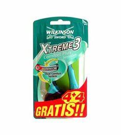 Wilkinson Sword Xtreme 3 sensitive 4+4 Und.