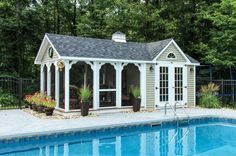 Styles: Governor's Series: Cottage, Pool House, Grand Pool House: The Barn Yard & Great Country Garages