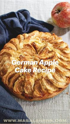 Apple Dessert Recipes, Apple Recipes, Just Desserts, Fall Recipes, Baking Recipes, Delicious Desserts, Yummy Food, German Apple Cake, Special Recipes