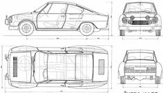 Skoda 130 RS Plane Engine, Blue Prints, Mini Trucks, Car Sketch, All Cars, Sport Cars, Cars And Motorcycles, Automobile, Engineering