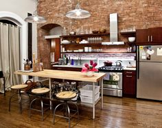I have always loved urban lofts...industrial chic....just hate ...