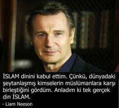 (1) Bilginin Anahtarı® (@BilgininAnahtar)   Twitter sayfasından Medya Tweetleri Meaningful Sentences, Meaningful Words, Actor Quotes, Islamic Images, Liam Neeson, Tell The Truth, True Stories, Cool Words, Karma