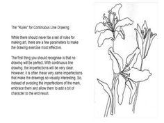 Continuous Line Lesson FREE ART COURSE