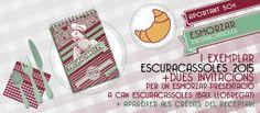 #CALENDARI #CUINA #CROWDFUNDING L'Escuracassoles és un calendari-receptari que setmanalment porta a la teva cuina una llista d'aliments de temporada, una recepta senzilla, espai per apuntar cites i també per fer la llista de la compra. És bonic, sostenible, responsable i lliure, és un calendari per llepar-se'n els dies! Recompensa: Calendari + esmorzar http://www.verkami.com/projects/9143-receptari-calendari-escuracassoles-2015-volum-ii Crowdfunding verkami