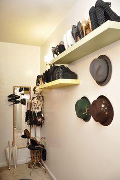 shoe shelves