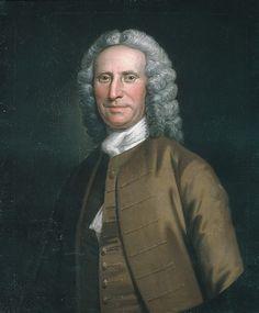 """Cadwallader Colden"" by John Wallaston (1749-1752) at the Metropolitan Museum of Art, New York"