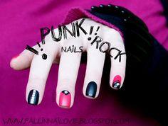 fall in ...naiLove!: PUNK ROCK nails...