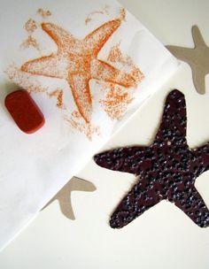 Sandpaper starfish...