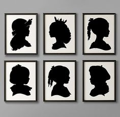 Will make this using my kids silhouette, I will change the colors to green for my boy and pink-purple for my girls. Then I will pin my results on my diy board. Wish me luck!