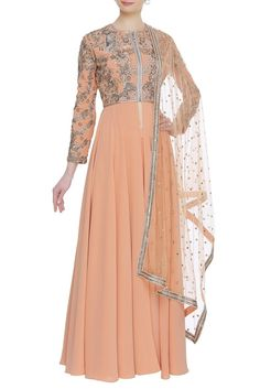 Buy Pleated flare embroidered kurta set by Neeta Lulla at Aza Fashions Neeta Lulla, Victorian, Indian, Formal Dresses, Flare, Stuff To Buy, Shopping, Collection, Design