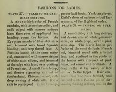 """Fashions for Ladies."" June 1810."