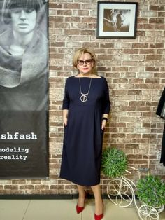 Best Fashion Ideas For Women Over 50 - Fashion Trends 60 Fashion, Over 50 Womens Fashion, Fashion Over 50, Fashion Wear, Plus Size Fashion, Fashion Dresses, Fashion Trends, Mode Chic, Mode Style