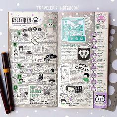 By enikkii.  #Diary, #Hobonichi