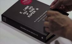 A Disappearing Ink Book That You Have Two Months to Read    Argentinian publisher Eterna Cadencia, ad agency Draftfcb created a special edition of the book printed with light- and air-sensitive ink that fades away in two months (video). The books were given away as a promotion in distinctive airtight and lightproof packages. Once the package is opened, the clock begins ticking.